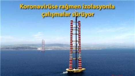 1915 Çanakkale Köprüsü inşaatında son 68 metre!