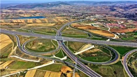 Kuzey Marmara Otoyolu yıl sonuna bitirilmeye çalışılıyor