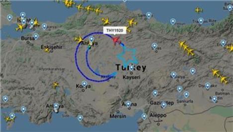 Türk Hava Yolları, bugün gökyüzüne ay-yıldız çiziyor