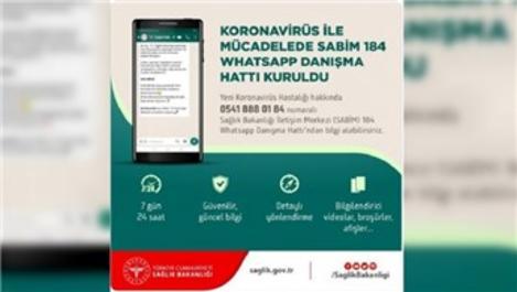 Sağlık Bakanlığı'ndan Whatsapp koronavirüs danışma hattı!