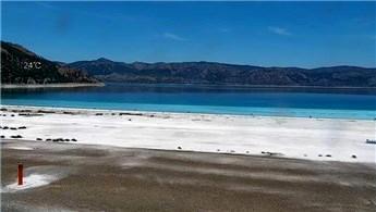 Salda Gölü'nden 24 saat canlı yayın!