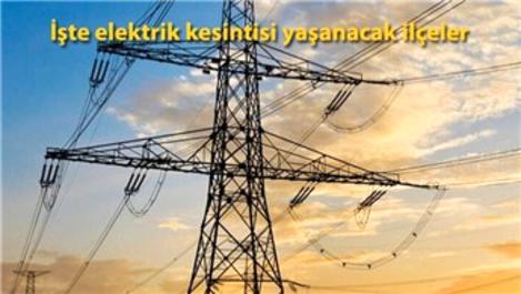 İstanbul'da 13 ilçede elektrik kesintisi!