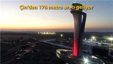 İstanbul Havalimanı metro hattı için alımlar yapıldı