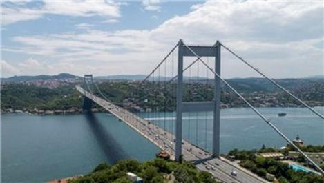 Köprü ve otoyollarının Mart ayı geliri 165,7 milyon TL!