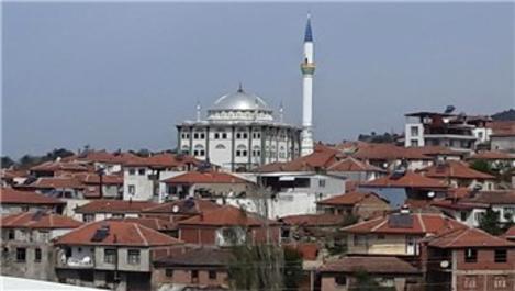 Manisa'daki Alifakı Camisi'nin minaresi yenilendi