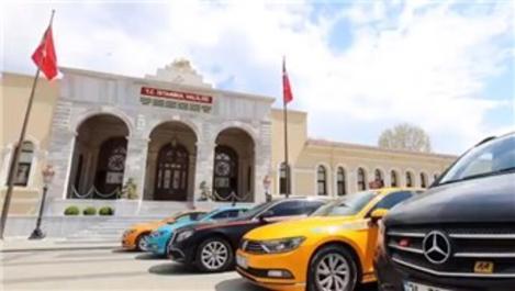 Taksiler, sağlıkçılar için 12.500 ücretsiz sefer yapacak