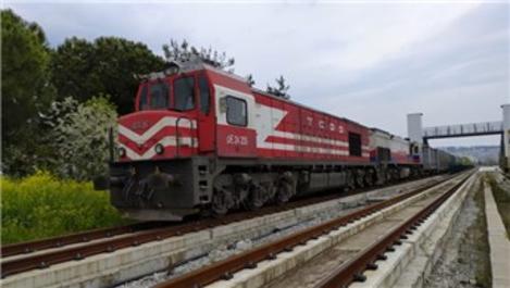 Samsun-Sivas Kalın demiryolu hattında test sürüşleri başladı