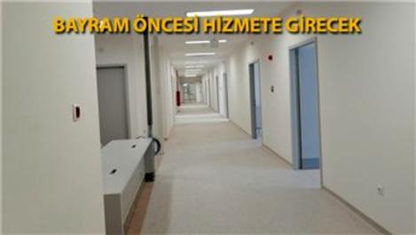 Sancaktepe'deki pandemi hastanesinin odaları görüntülendi