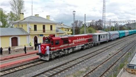 Sivas-Samsun demiryolu 5 yıl sonra tekrar hizmete açıldı