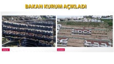Bodrum'da imara aykırı yapılarda yıkımlar sürüyor