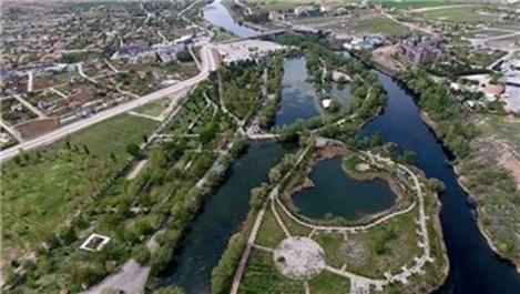 Kızılırmak üzerine kurulan Millet Bahçesi ihale için gün sayıyor
