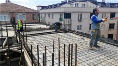 Normalleşme başladı, inşaat çalışmaları hızlandı