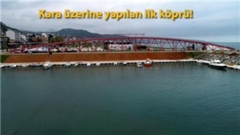 Trabzon'daki 'Kırmızı Köprü' için çözüm aranıyor