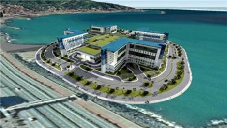 Rize'de şehir hastanesi de deniz doldurularak yapılacak