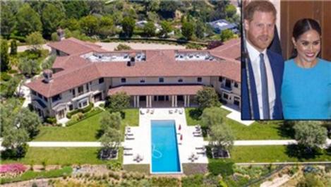Prens Harry ve Meghan Markle çiftinin 18 milyon dolarlık evi!