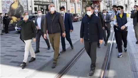 'Beyoğlu Kültür Yolu' çalışmaları devam ediyor