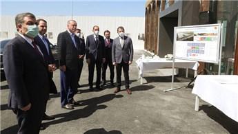 Cumhurbaşkanı Erdoğan, pandemi hastanelerini inceledi