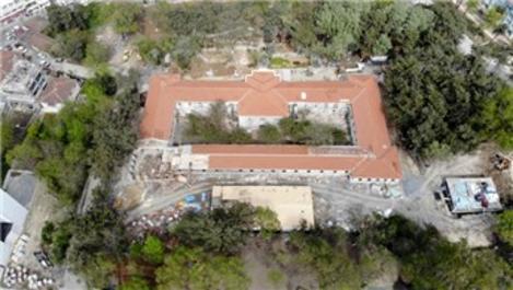 Hadımköy Askeri Hastanesi salgınla mücadele için hazırlanıyor