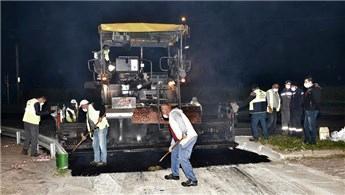 Bursa için sahurda asfalt vakti