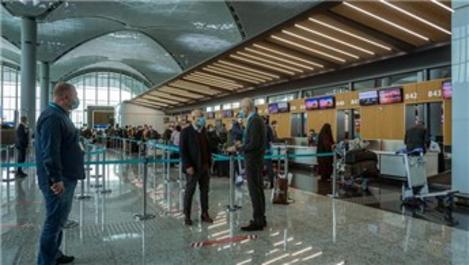 İstanbul Havalimanı'nda koronavirüs kapsamında yeni önlemler