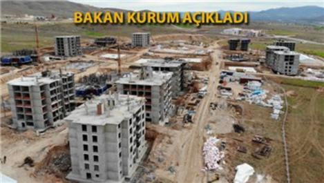 Elazığ ve Malatya'da toplam 23 bin 734 konut inşa ediliyor