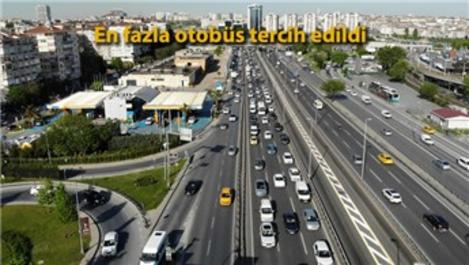 İstanbul'da sokağa çıkan kişi sayısı yüzde 30,4 arttı
