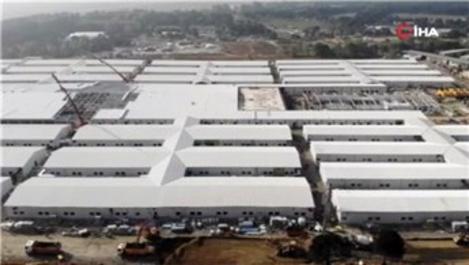 Sancaktepe'deki pandemi hastanesinin yüzde 90'ı tamamlandı