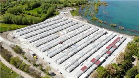Sivrice'deki konteyner kentte 258 aile yaşamaya başladı