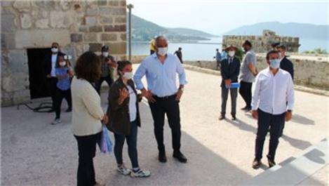 Bakan Ersoy, Bodrum'daki turizmcilere müjdeyi verdi