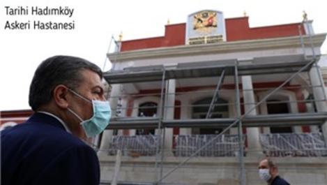 Bakan Koca, pandemi hastanelerini inceledi!