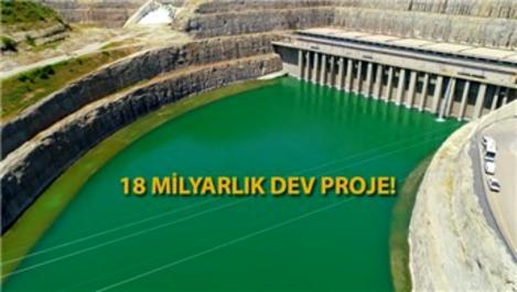 Ilısu Barajı'nda elektrik üretimi başlıyor