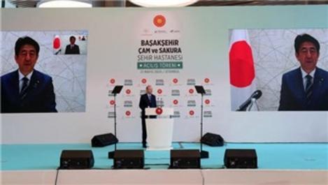 Başakşehir Çam ve Sakura Hastanesi'nin açılışı Japonya basınında