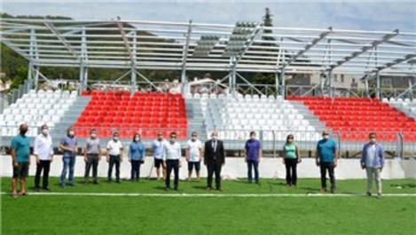 Marmaris Şehir Stadyumu için son hazırlıklar yapılıyor