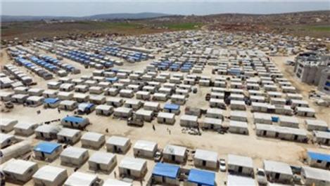 İHH, İdlib kırsalında briket evler inşa ediyor