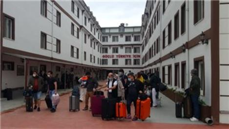 Yurtlarda yurtdışından gelen vatandaş kalmadı