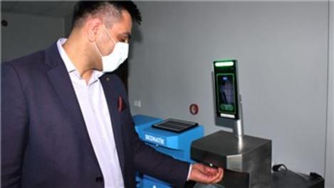 AVM ve iş yerlerinde otomatik ateş ölçen cihaz geliştirildi