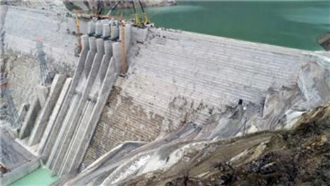 Avrupa'nın en büyüğü Çetin Barajı'nda elektrik üretimi başladı