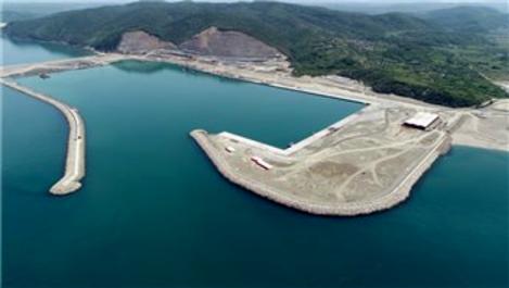 Filyos Limanı inşaatının yüzde 67'si tamamlandı