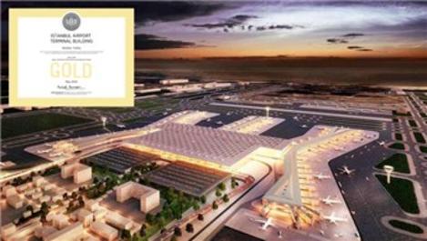 """İstanbul Havalimanı, """"LEED Altın"""" sertifikasıyla tescillendi"""