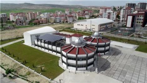 Sivas Bilim ve Sanat Merkezi elektriğini kendi üretiyor