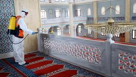 Camiler 29 Mayıs'a hazırlanıyor