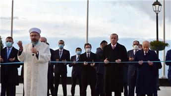 Demokrasi ve Özgürlükler Adası'nın açılışı yapıldı
