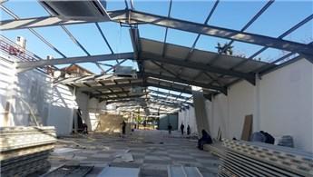 Antalya'da 413 kaçak yapının yıkımı sürüyor