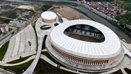 Çotanak Spor Kompleksi'nin yüzde 95'i tamamlandı