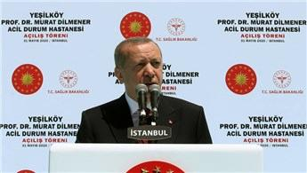 Başkan Erdoğan, iki pandemi hastanesinin açılışını yaptı