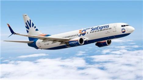 SunExpress, iç hat uçuşlarına başladı