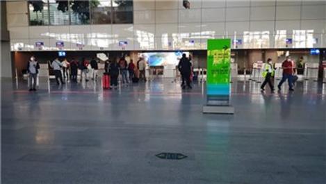 Dalaman Havalimanı'nda 2 ay sonra uçuşlar yeniden başladı