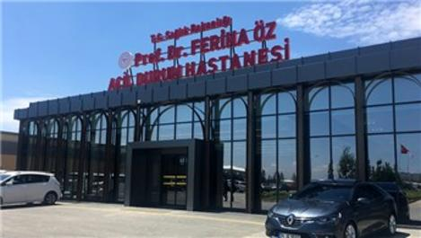 Prof. Dr. Feriha Öz Acil Durum Hastanesi hasta kabulüne başladı