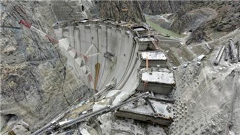 Yusufeli'nde 3 milyonuncu metreküp betonu Cumhurbaşkanı dökecek