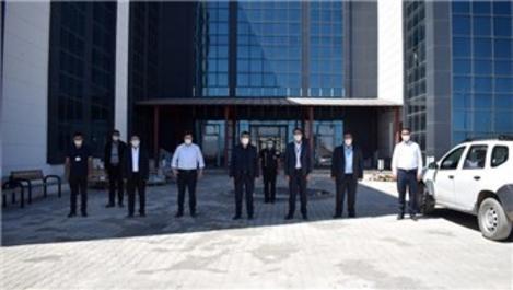 Çaldıran Devlet Hastanesi inşaatı yüzde 95 tamamlandı